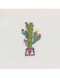 Kit broderie Easy Custo - don't touch me