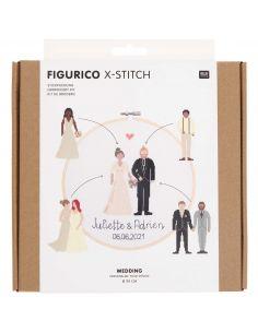 Kit de broderie Figurico - Mariage