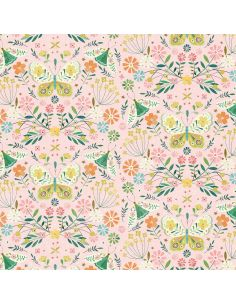 Tissu en coton Hedgerow Insects