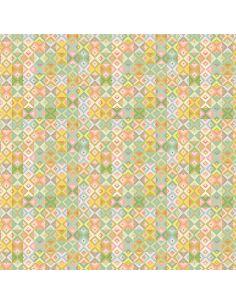 Tissu en coton Hedgerow Geometric