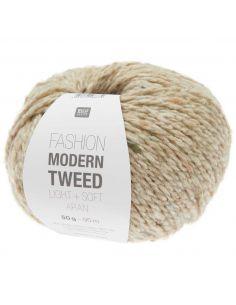 Pelote Fashion modern tweed aran sable
