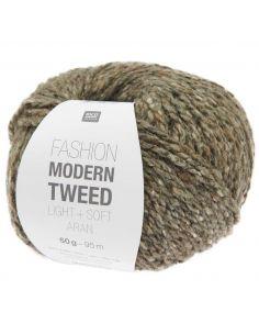 Pelote Fashion modern tweed aran anthracite