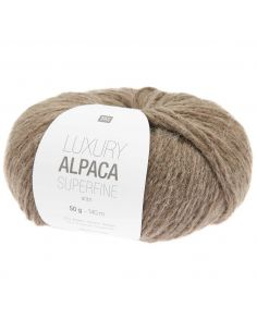 Pelote Luxury alpaca superfine aran taupe