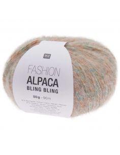 Pelote Fashion alpaca bling bling pastel