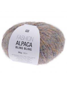 Pelote Fashion alpaca bling bling lilas clair