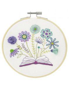 Kit à broder - L'herbier fleuri