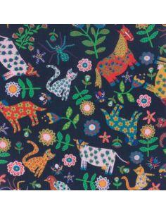 Tissu Liberty Tana Lawn Folk tails