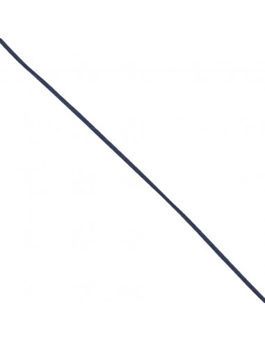 Queue de rat 3mm Bleu marine