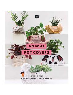 Animal pot covers : 10 super animaux pour customiser vos cache-pots