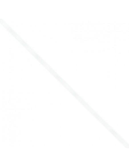 Ruban Gros grain unis 6mm Blanc