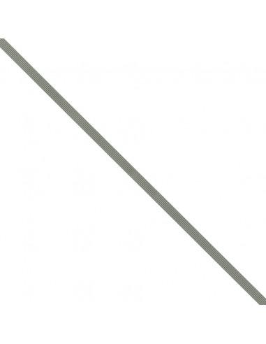 Ruban Gros grain unis 6mm Gris ciment