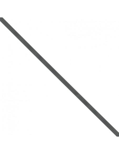 Ruban Gros grain unis 6mm Anthracite