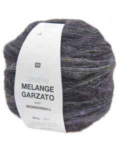 Pelote Creative melange garzato aran - wonderball gris