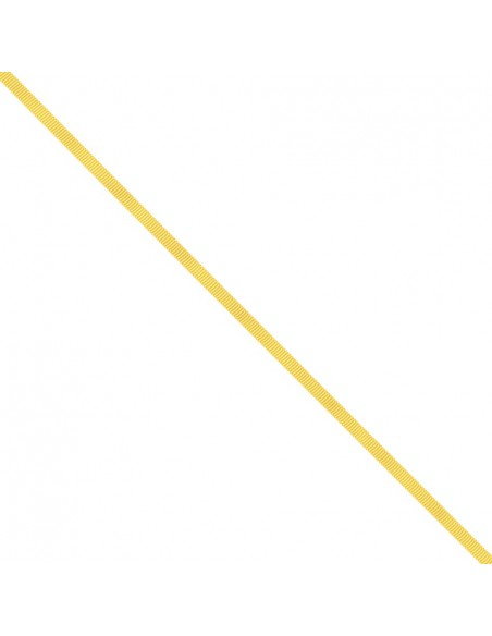 Ruban Gros grain unis 6mm Jaune