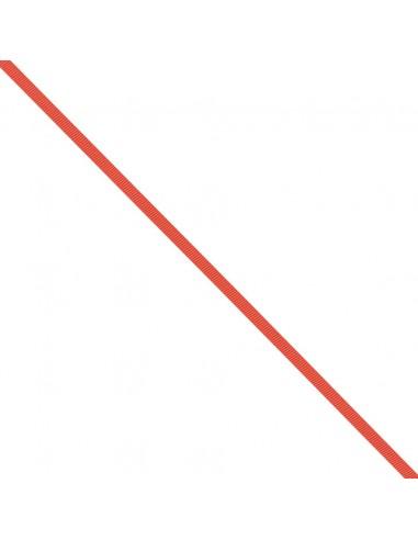 Ruban Gros grain unis 6mm Vermillon