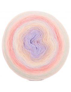 Pelote Creative alpaca dégradé licky 8 pastel