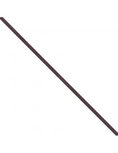 Ruban Gros grain unis 6mm Prune