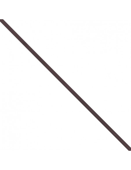 Ruban Gros grain unis 6mm Prune