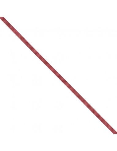 Ruban Gros grain unis 6mm Framboise