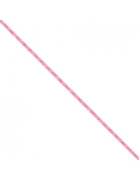 Ruban Gros grain unis 6mm Rose pivoine