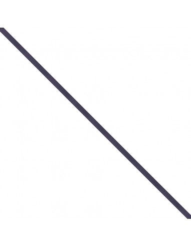 Ruban Gros grain unis 6mm Aubergine