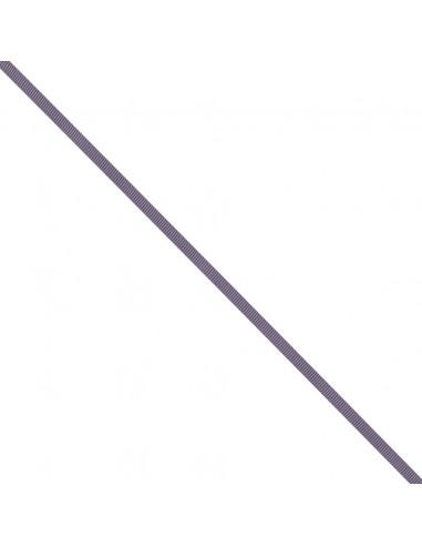 Ruban Gros grain unis 6mm Mauve