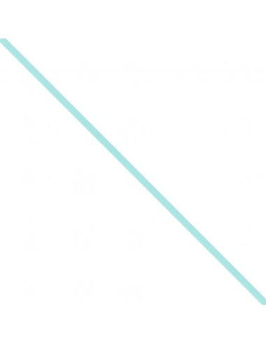 Ruban Gros grain unis 6mm Bleu lagon