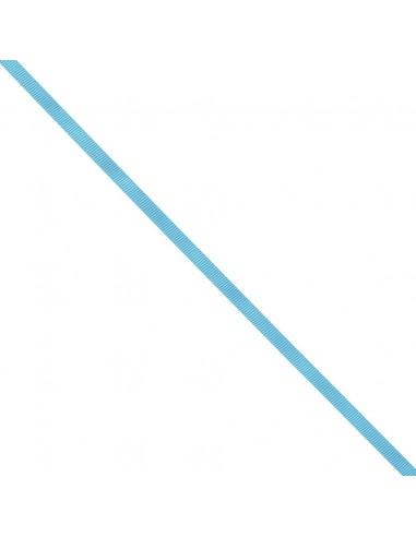 Ruban Gros grain unis 6mm Bleu azur