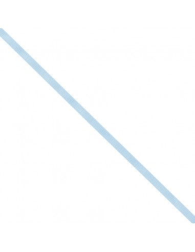 Ruban Gros grain unis 6mm Bleu layette