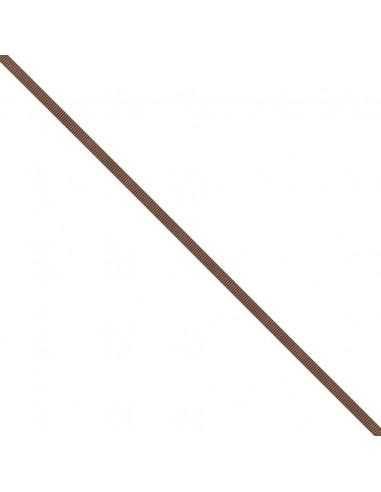 Ruban Gros grain unis 6mm Caramel