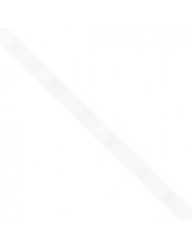 Ruban Gros grain unis 16mm Blanc