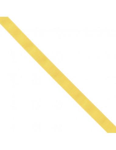 Ruban Gros grain unis 16mm Jaune