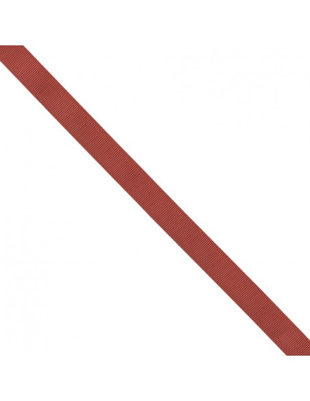 Ruban Gros grain unis 16mm Rouge cerise