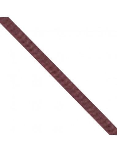 Ruban Gros grain unis 16mm Rouge grenat