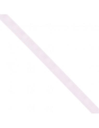 Ruban Gros grain unis 16mm Rose dragée