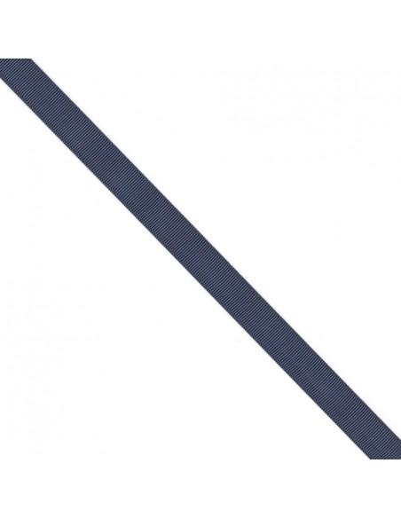 Ruban Gros grain unis 16mm Bleu marine