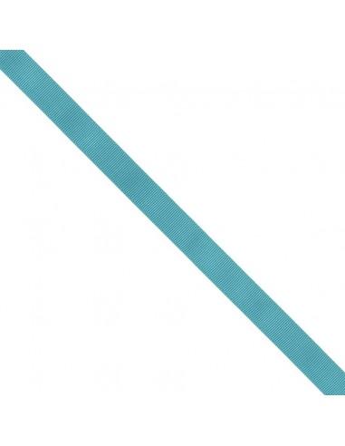 Ruban Gros grain unis 16mm Bleu canard