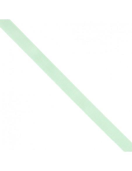 Ruban Gros grain unis 16mm Vert d'eau