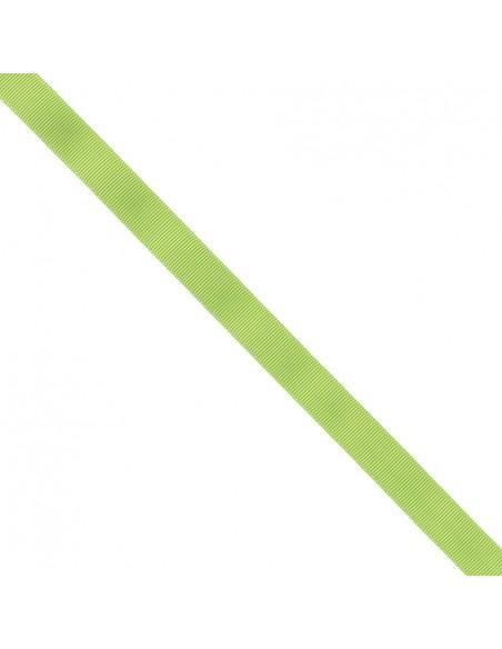 Ruban Gros grain unis 16mm Vert prairie