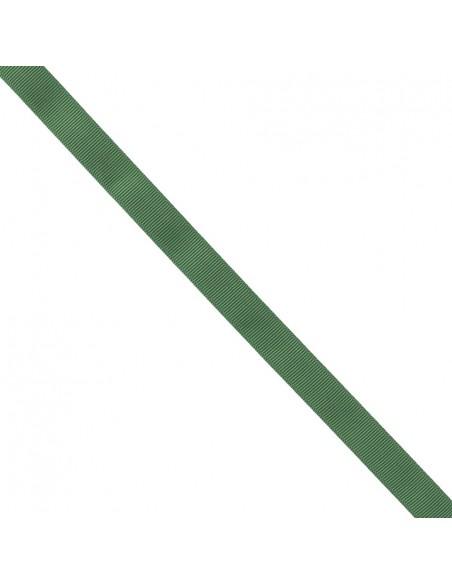 Ruban Gros grain unis 16mm Vert épinard
