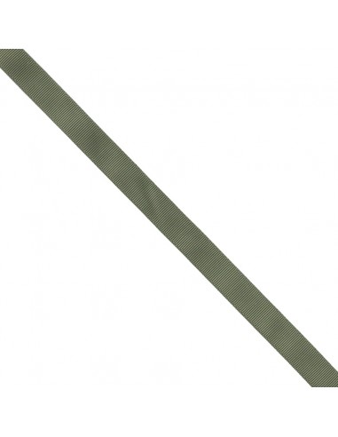 Ruban Gros grain unis 16mm Vert olive