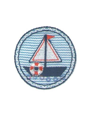 Motif thermocollant Collection Pirates - Le bateau