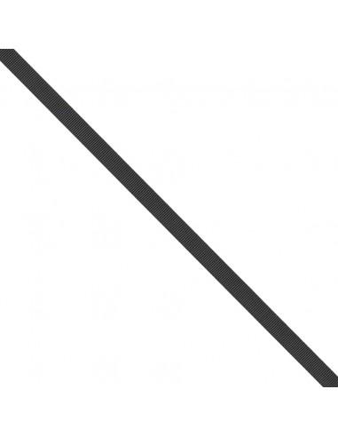 Ruban Gros grain unis 9mm Noir