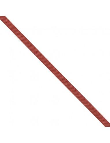 Ruban Gros grain unis 9mm Rouge cerise