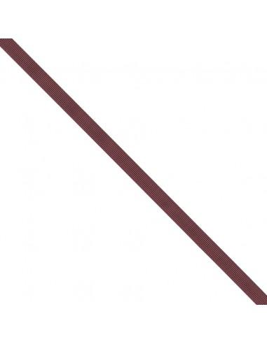 Ruban Gros grain unis 9mm Rouge grenat