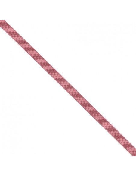 Ruban Gros grain unis 9mm Vieux rose