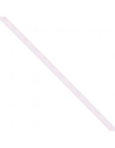 Ruban Gros grain unis 9mm Rose dragée