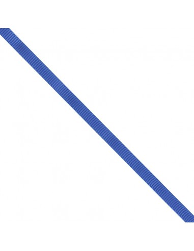 Ruban Gros grain unis 9mm Bleu roi