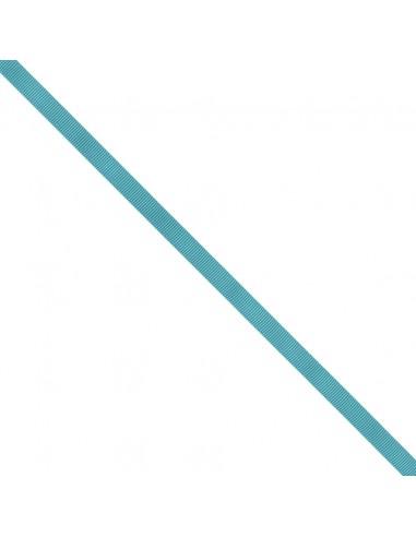 Ruban Gros grain unis 9mm Bleu canard