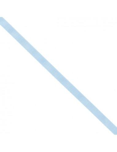 Ruban Gros grain unis 9mm Bleu layette